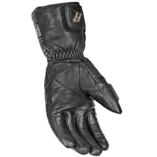 Joe Rocket Rocket Burner Heated Mens Leather Motorcycle Gloves - Palm View