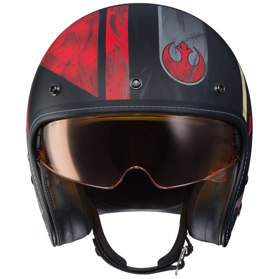 HJC IS-5 Poe Dameron Helmet - Front View