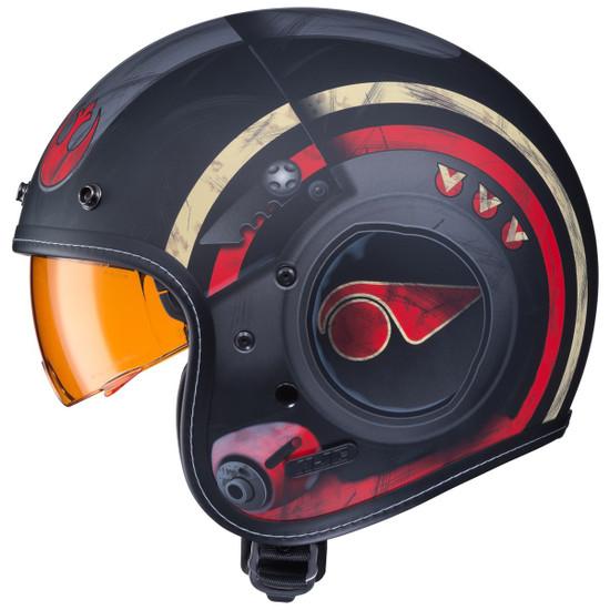 HJC IS-5 Poe Dameron Helmet - Side View