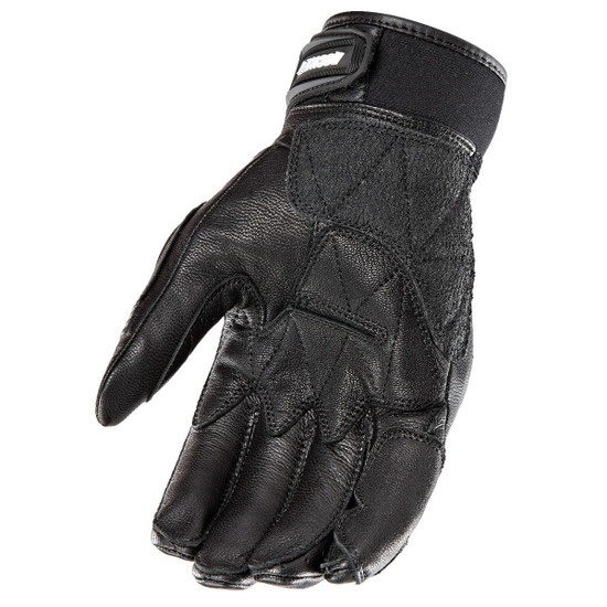 Joe Rocket Speedway Mens Leather Motorcycle Gloves - Palm View