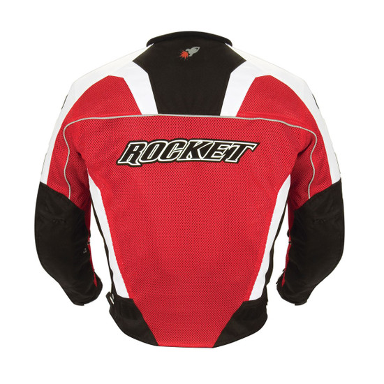 Joe Rocket UFO 2.0 Mens Mesh Motorcycle Jacket - Back View
