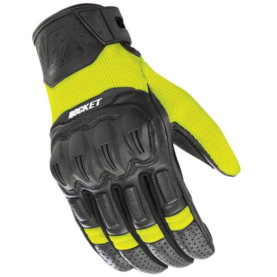 Joe Rocket Phoenix 5.1 Gloves - Hi-Viz Yellow