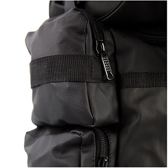 Expandable Water Resistant Motorcycle Sissy Bar Bag-Detail View-2