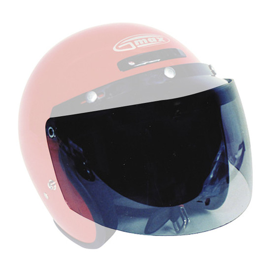 GMax GM2X / GM32SOpen Face Helmet 3-Snap Shield