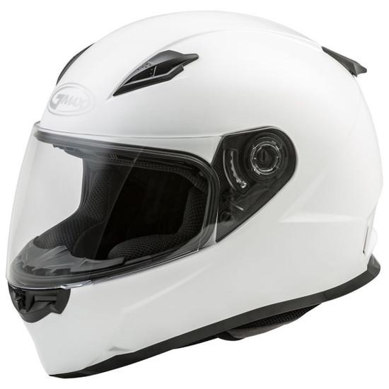 Gmax FF49 Helmet - White