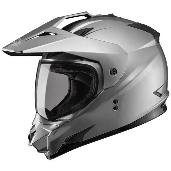GMax GM11D Dual Sport Helmet-Titanium