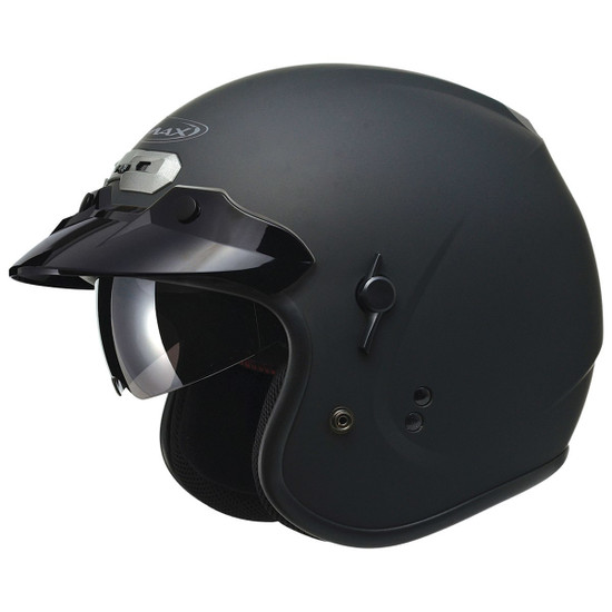 GMax GM32S Open-Face Helmet-Flat Black