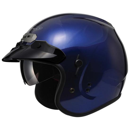 GMax GM32S Open-Face Helmet-Blue