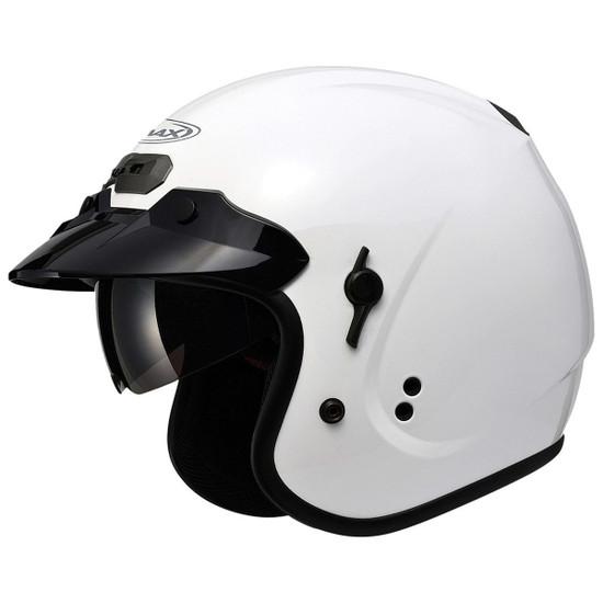 GMax GM32S Open-Face Helmet-White