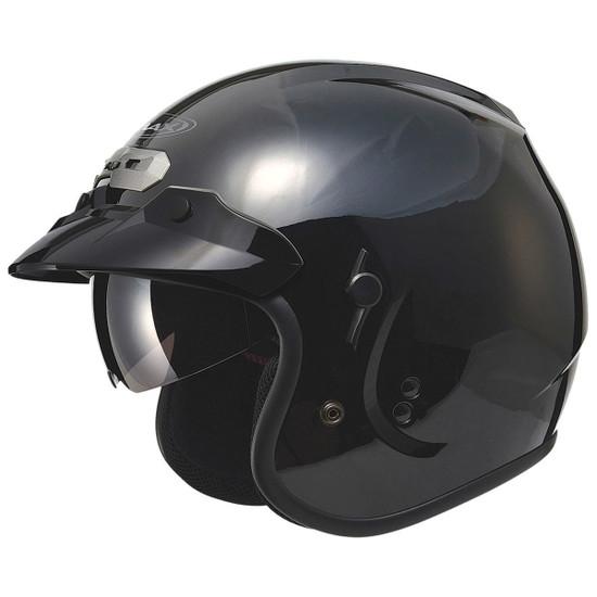 GMax GM32S Open-Face Helmet-Black