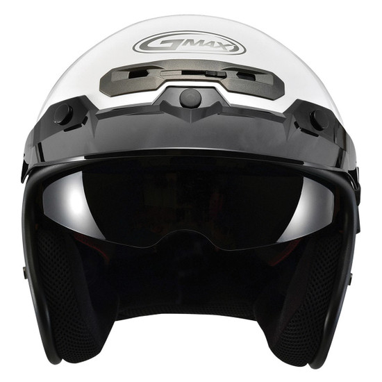 GMax GM32S Open-Face Helmet-Front View