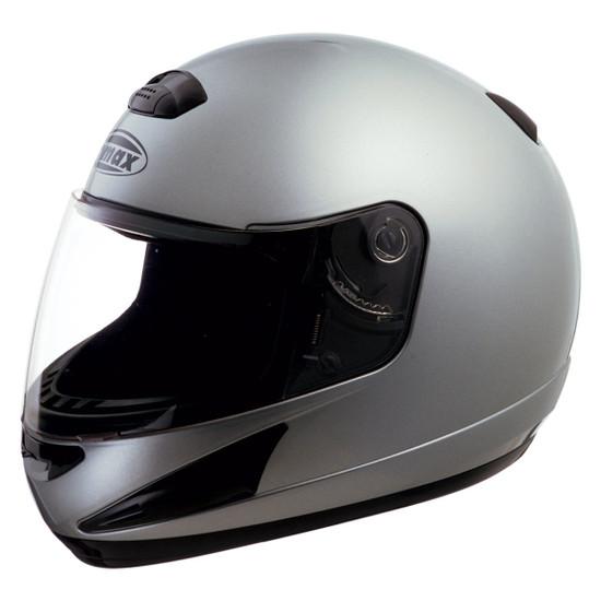 GMax GM38S Helmet - Metallic Silver
