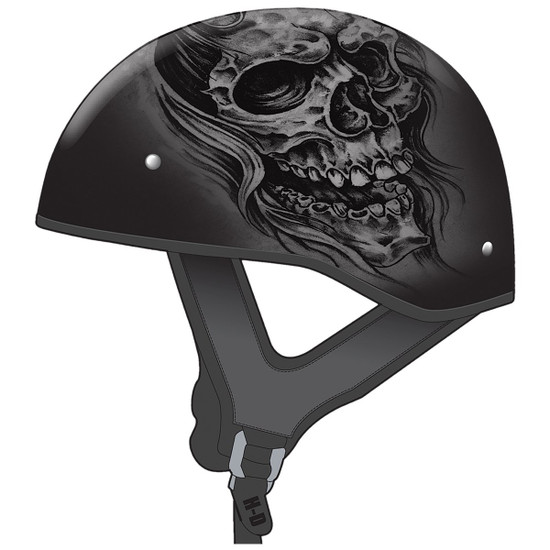 GMax GM65 Ghost Half Helmet