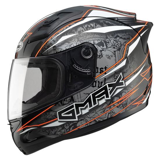 Gmax GM69 Mayhem Helmet-Orange