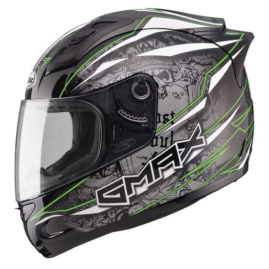 Gmax GM69 Mayhem Helmet-Green