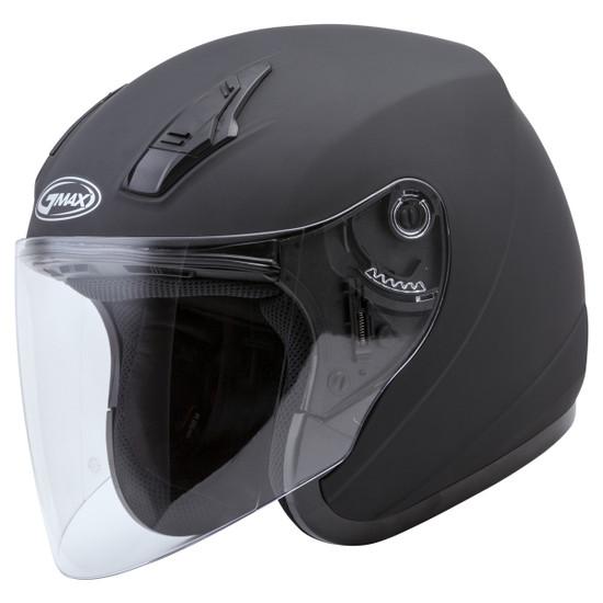 GMax OF17 Open Face Helmet - Matte Black