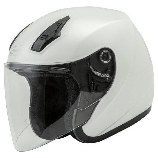 GMax OF17 Open Face Helmet - Pearl White
