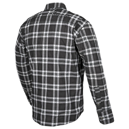 Speed And Strength Black 9 Armored Shirt - Back-View