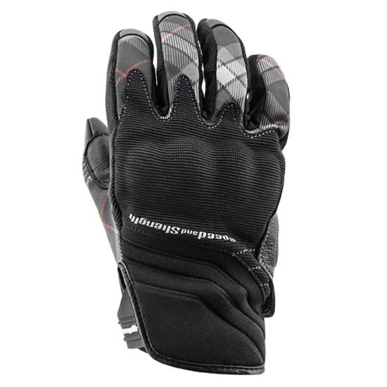 Speed And Strength Women's Cross My Heart Gloves - Black
