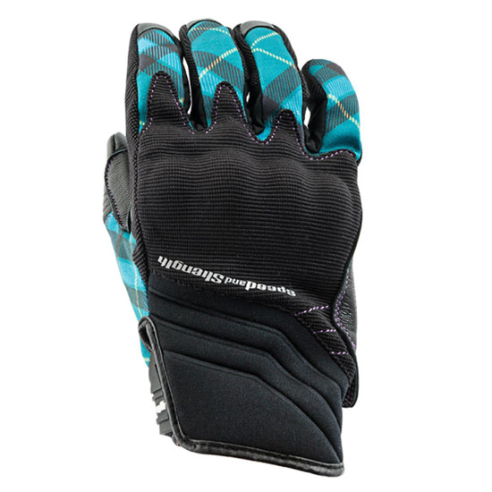 Speed And Strength Women's Cross My Heart Gloves - Teal