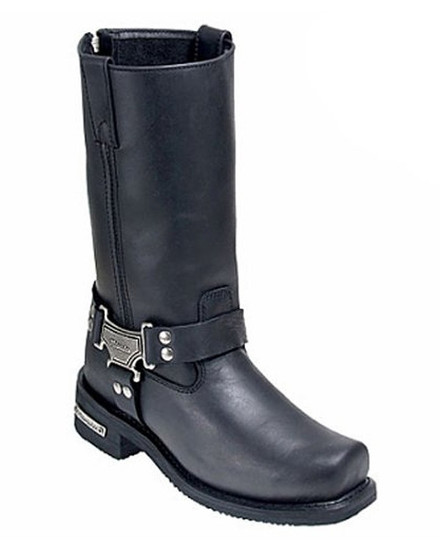 Milwaukee Classic Harness Motorcycle Boots
