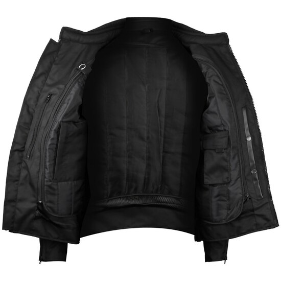 Advanced Vance VL1623B Mens All Weather Season CE Armor Mesh Motorcycle Jacket