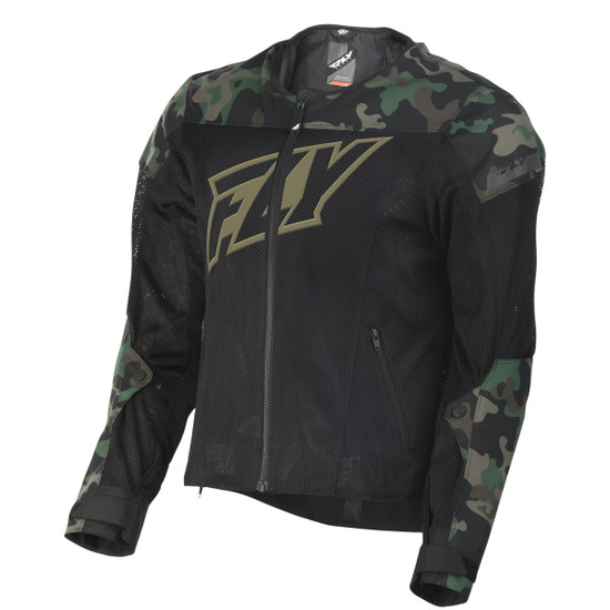 Fly Mesh Flux Air Jacket - Camo
