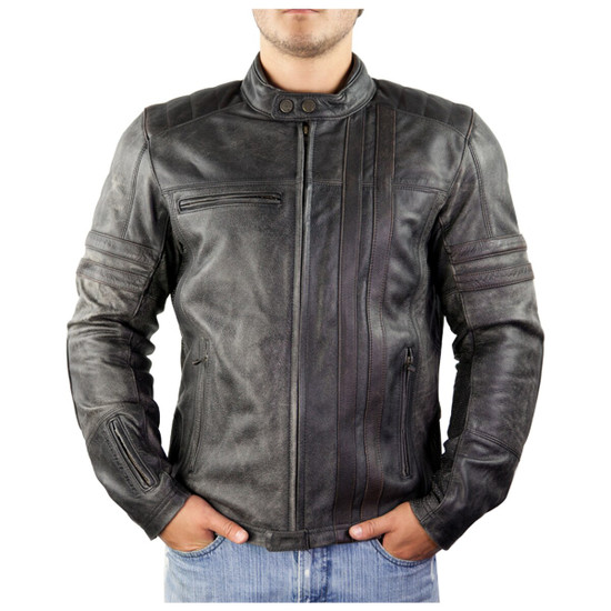 Scorpion 1909 Leather Jacket - Front View