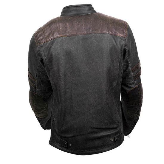Scorpion 1909 Leather Jacket - Back View