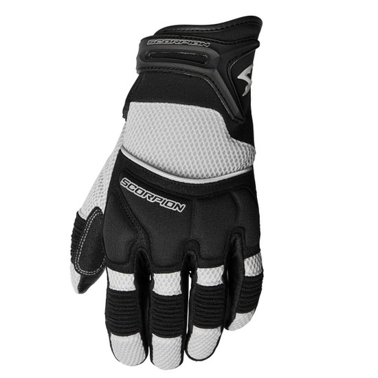 Scorpion Coolhand II Motorcycle Gloves - Silver