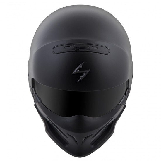 Scorpion Covert Helmet - Matte Black Top View