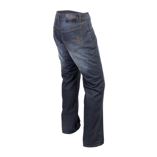 Scorpion Covert Pro Riding Jeans - Light Blue Back View