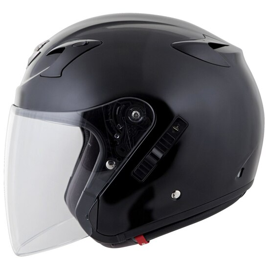 Scorpion EXO CT220 Helmet - Black Left Detail View