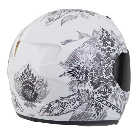 Scorpion EXO-R320 Dream Helmet - White Right Side