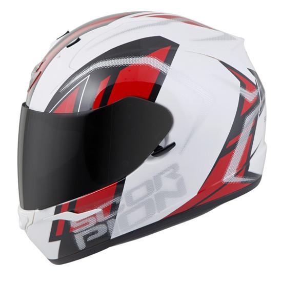 Scorpion EXO-R320 Endeavor Helmet - white/Red