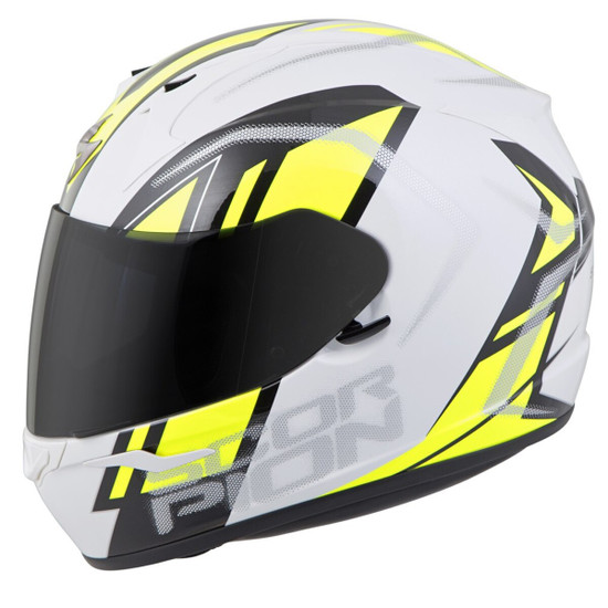 Scorpion EXO-R320 Endeavor Helmet - White/Yellow