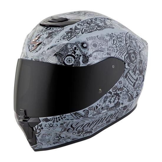 Scorpion EXO-R420 Shake Helmet - Grey