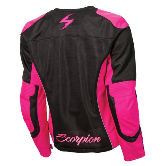 Scorpion Women's Verano Mesh Jacket  - Pink Back  View
