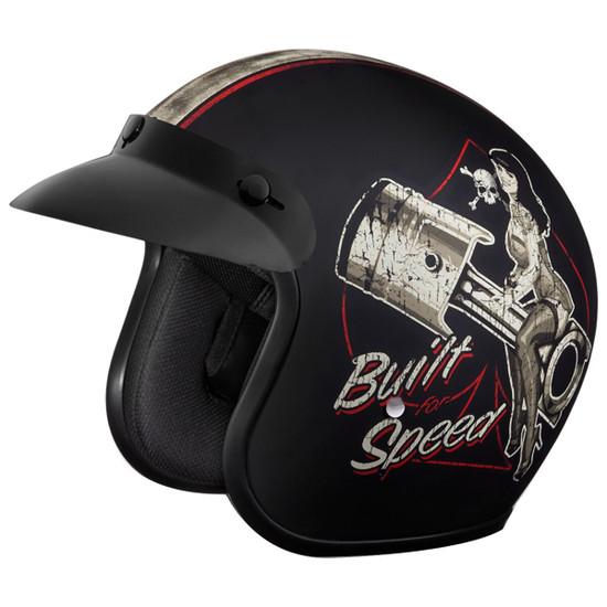 Daytona Cruiser Built For Speed Helmet