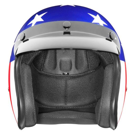 Daytona Cruiser Captain America Helmet - Front