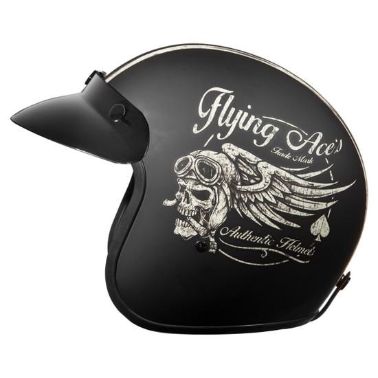 Daytona Cruiser Flying Ace's Helmet -Left