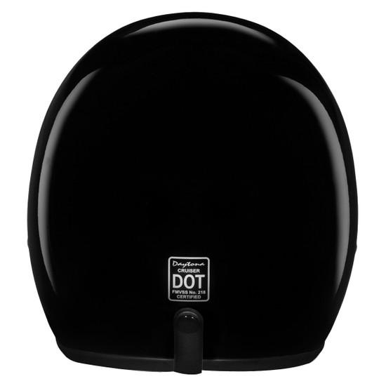 Daytona Cruiser Open Face Helmet - Back