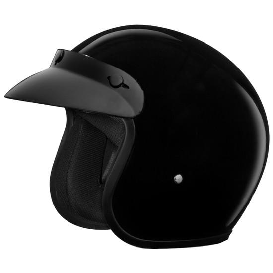 Daytona Cruiser Open Face Helmet - Detail
