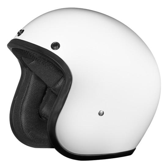 Daytona Cruiser Open Face Helmet - White