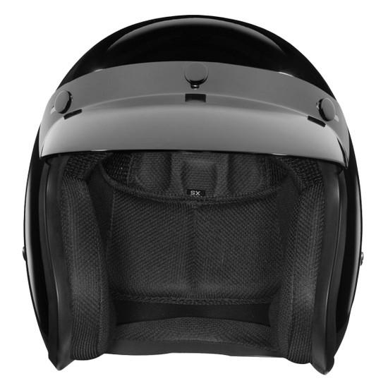 Daytona Cruiser Open Face Helmet - Front