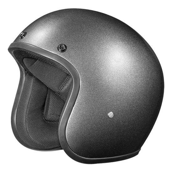 Daytona Cruiser Open Face Helmet - Gun Metal