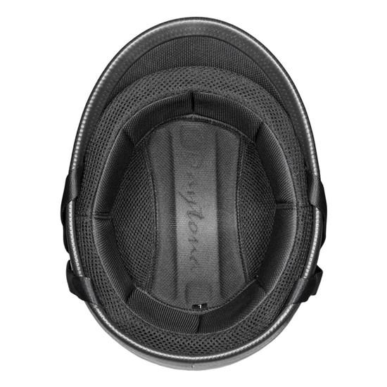 Daytona Polo Half Helmet - Flat Black Inner view