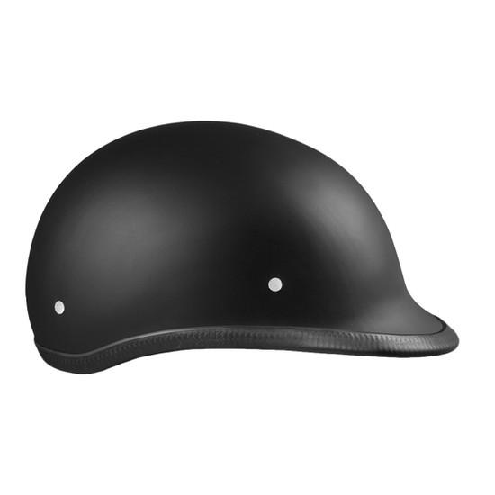 Daytona Polo Half Helmet - Flat Black Right View