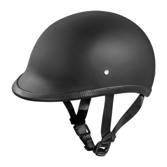Daytona Polo Half Helmet - Flat Black