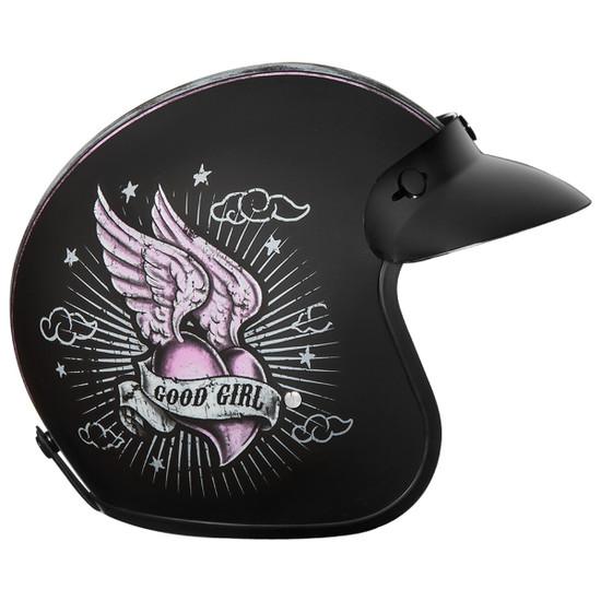 Daytona Women's Cruiser Gone Bad Helmet - Right Side View